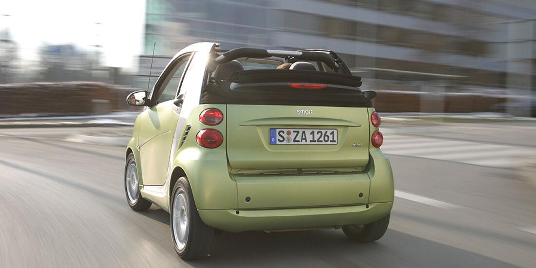 Smart Fortwo Cabrio, Heck