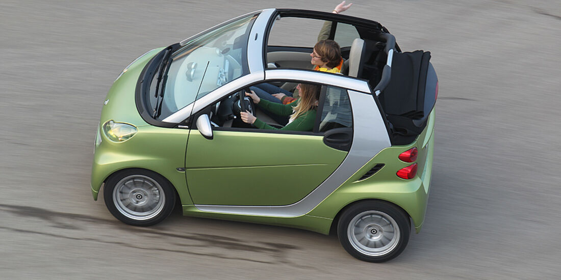 Smart Fortwo Cabrio, faltbares Softtop