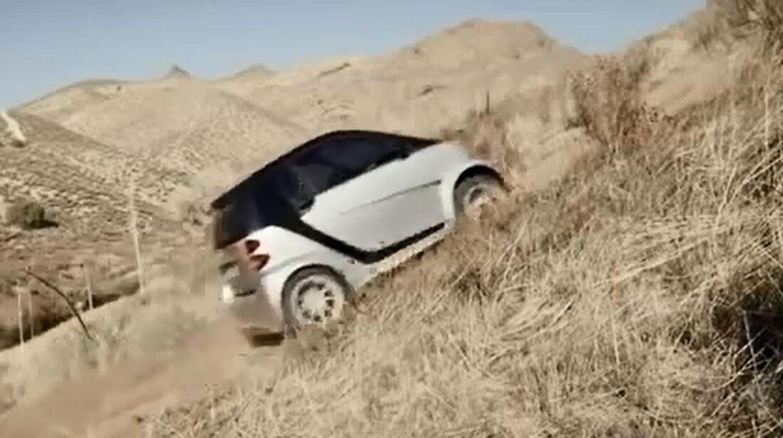 Smart Fortwo Offroad TV Spot Screenshot