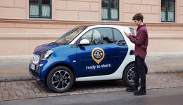 Smart Ready to share carsharing