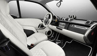 Smart forjeremy Serienedition, Auto Shanghai 2013, Innenraum