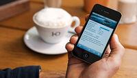 Smartphone, App, Ladezustand