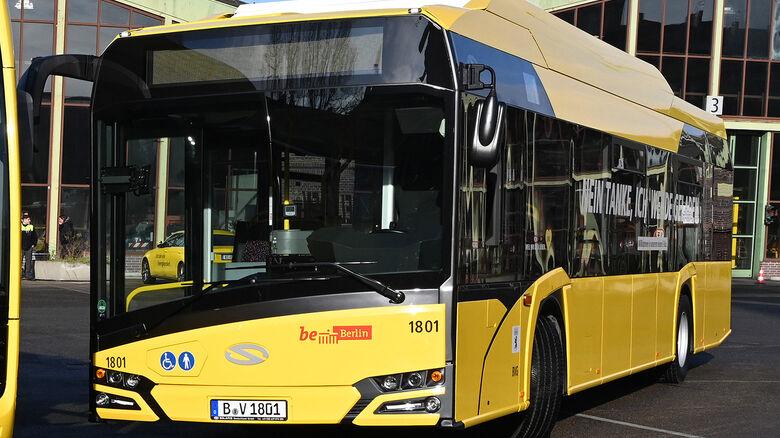 Solaris Urbino electric, BVG