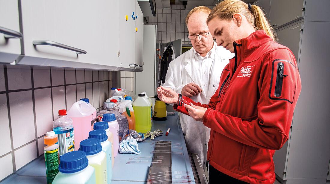 Sommer-Scheibenreiniger, Labor, Kärcher