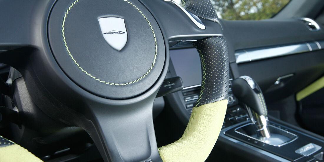 Speedart SP81-R, Lenkrad, Wippschalter