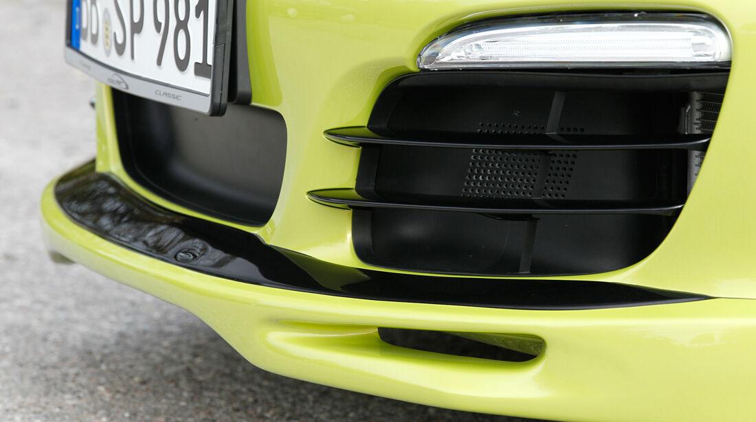 Speedart SP81-R, Lufteinströmer