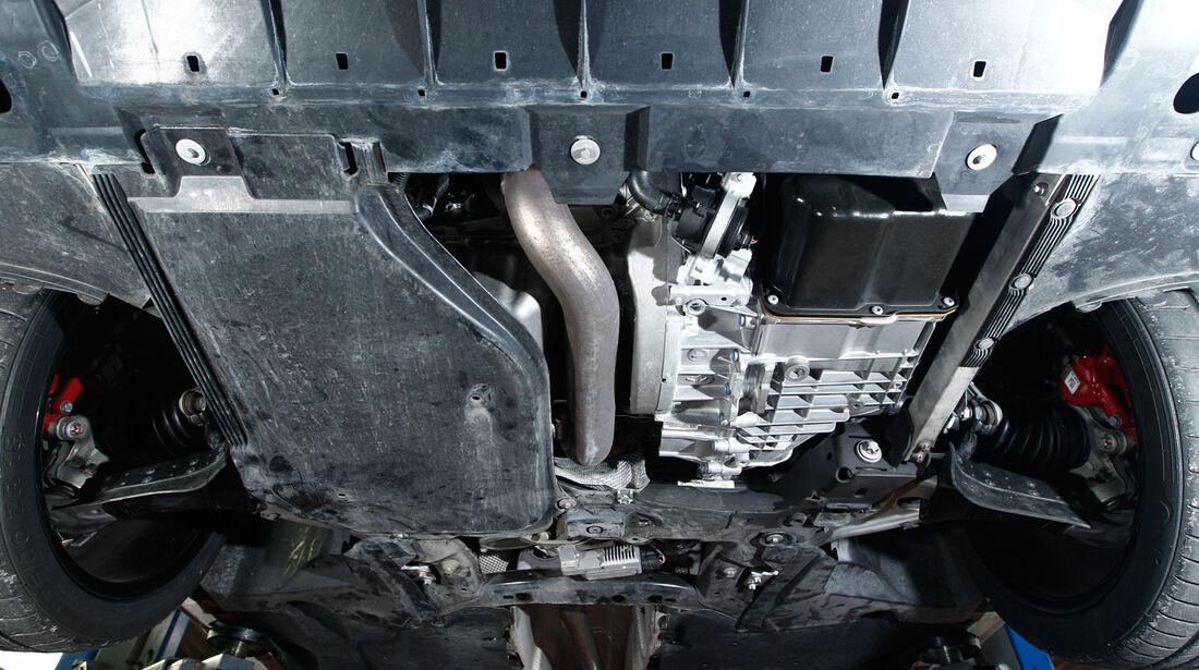 Speedart SP81-R, Unterboden