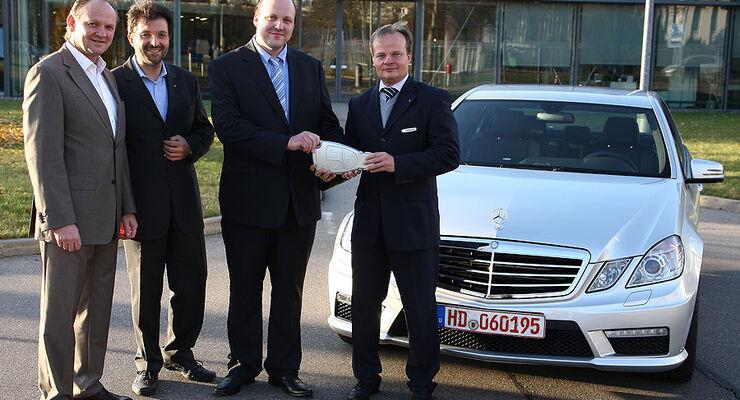 Sport auto-Leserwahl Gewinner 2009 Mercedes E63AMG