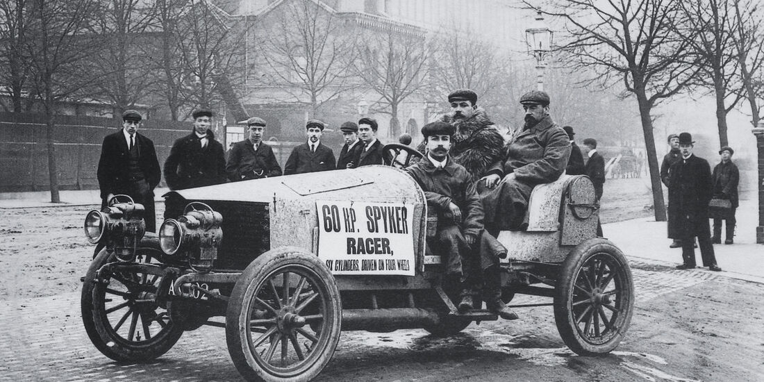Spyker 60 hp, Crystal Palace