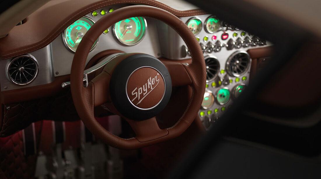 Spyker C8 Preliator teaser