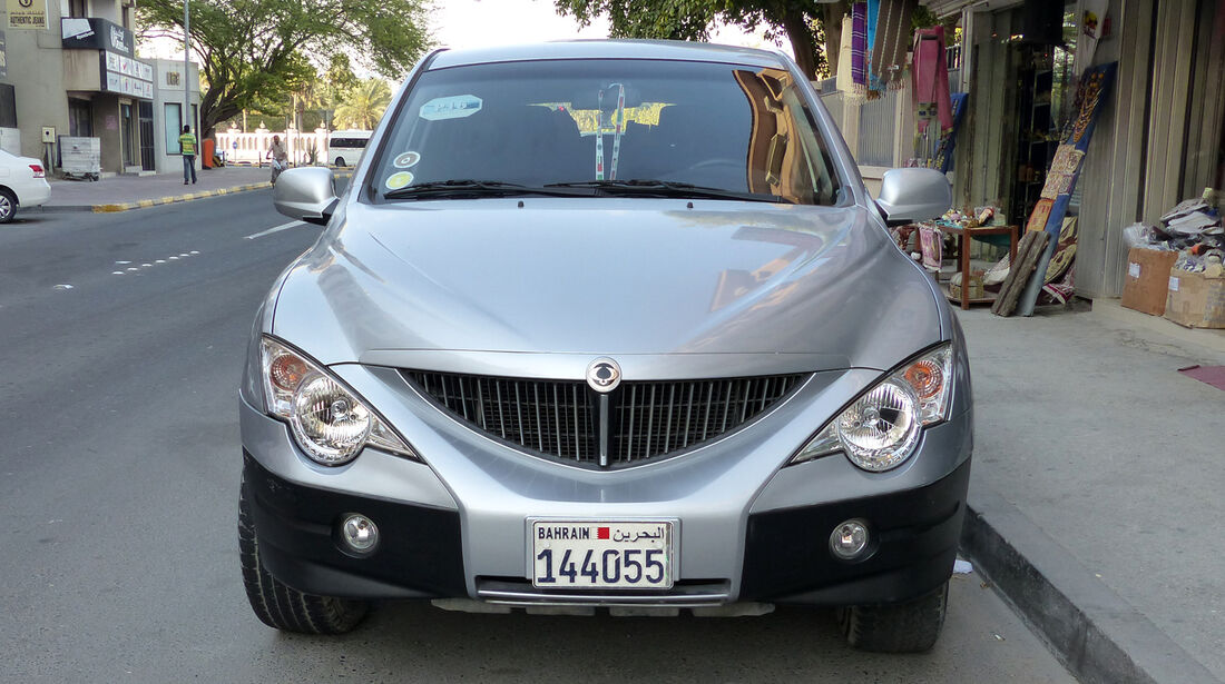 Ssangyong Actyon - Carspotting Bahrain 2014