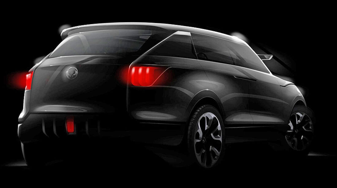Ssangyong SUV Concept XUV 1