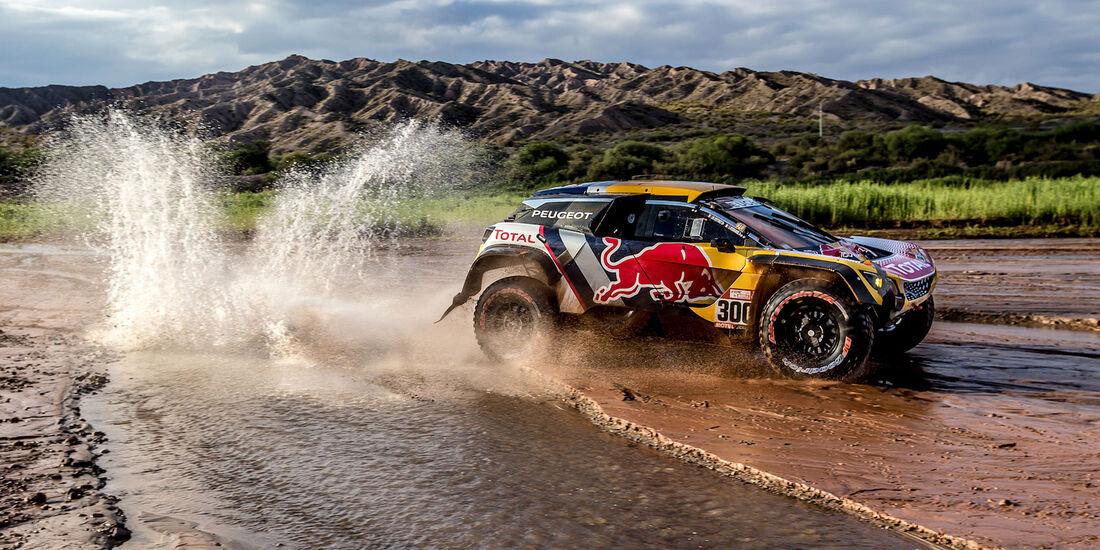 Stéphane Peterhansel - Peugeot 3008 DKR Maxi - Rallye Dakar 2018 - Motorsport