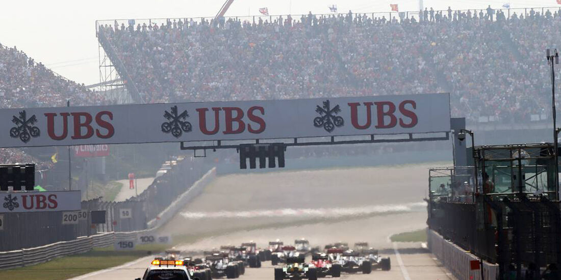 Start - Formel 1 - GP China - 14. April 2013