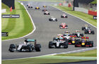 Start - Formel 1 - GP England 2016