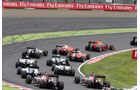 Start - Formel 1 - GP Japan 2016 - Suzuka