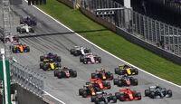 Start - Formel 1 - GP Österreich - 1. Juli 2018