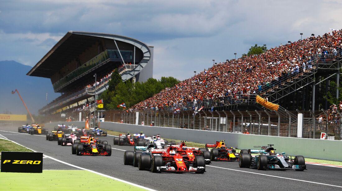 Start - Formel 1 - GP Spanien - 14. Mai 2017