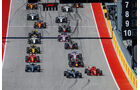 Start - Formel 1 - GP USA - Austin - 2018