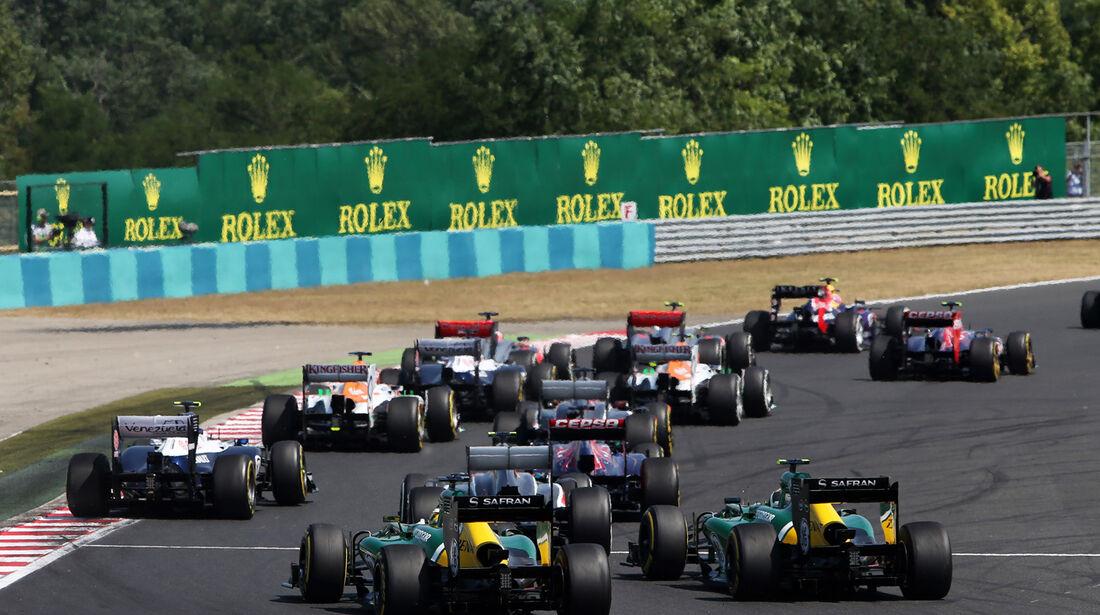 Start - Formel 1 - GP Ungarn 2013