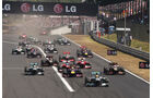 Start - Formel 1 - GP Ungarn 2013