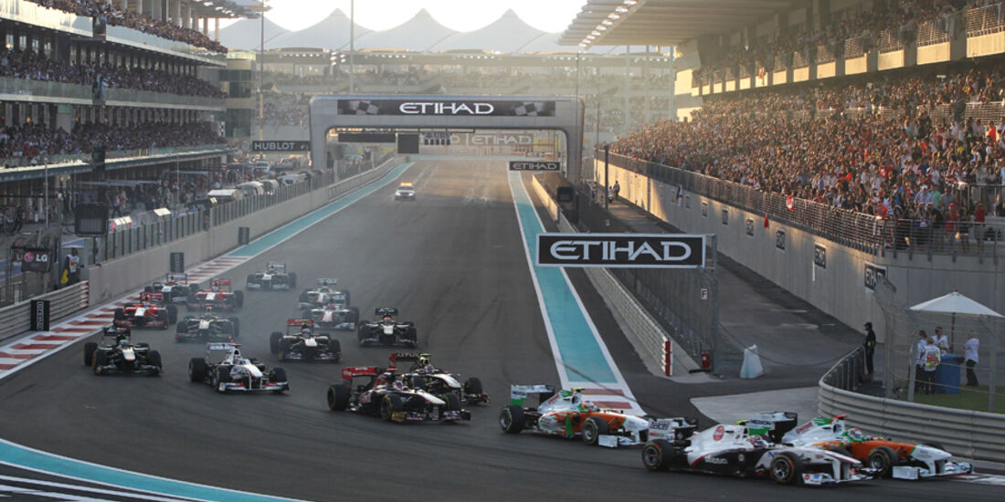 Start GP Abu Dhabi 2011