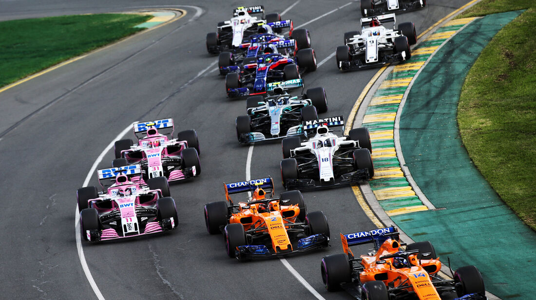 Start - GP Australien 2018 - Melbourne - Rennen
