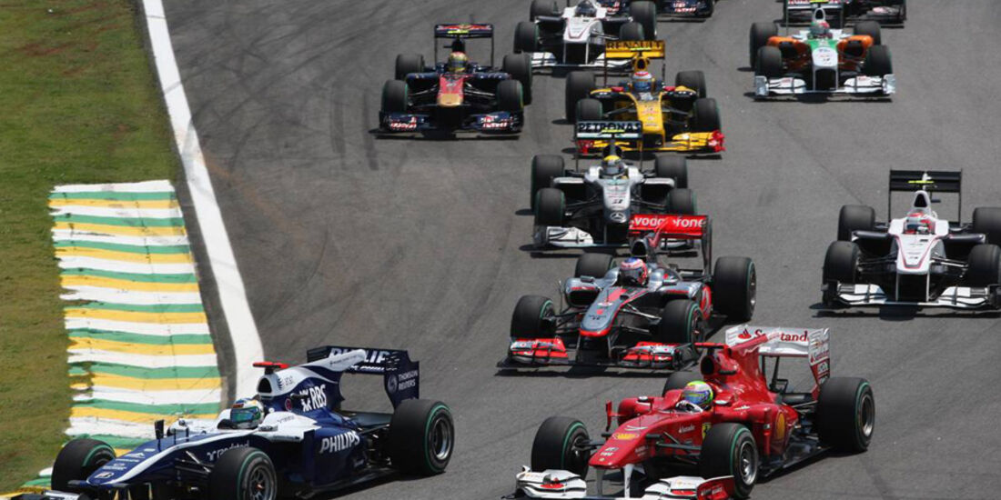 Start GP Brasilien 2010