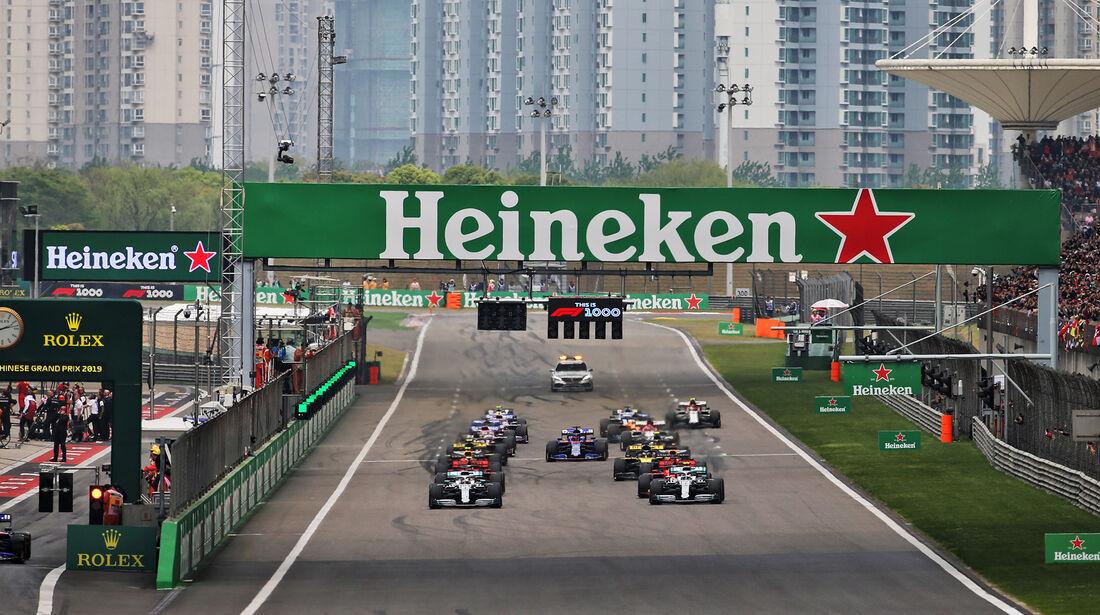 Start - GP China 2019 - Shanghai