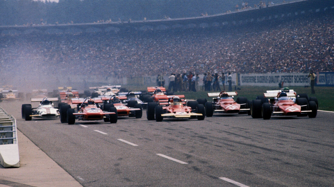 Start - GP Deutschland 1970