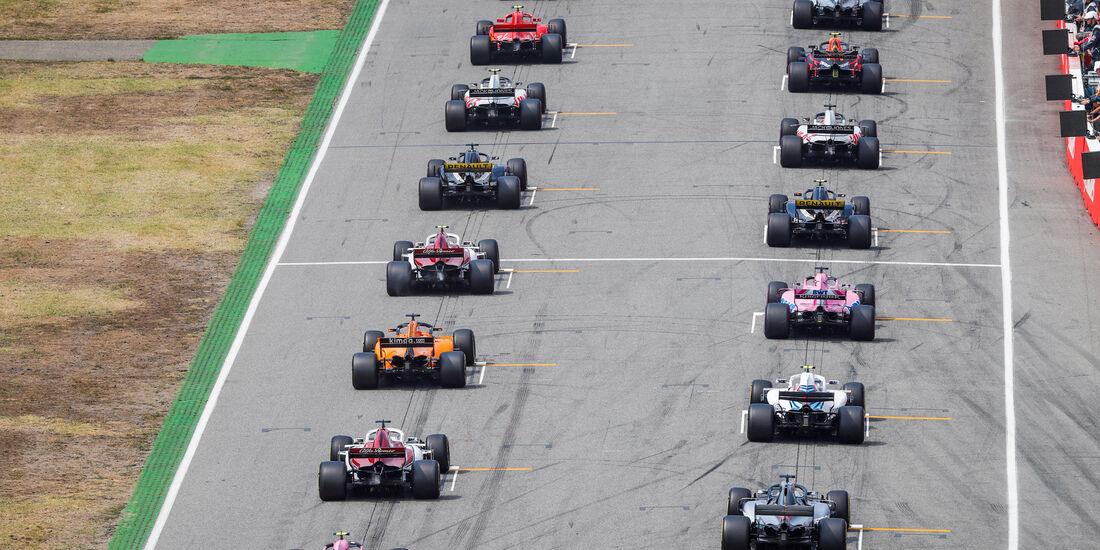 Start - GP Deutschland 2018 - Rennen
