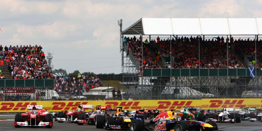 Start GP England 2011 Rennen
