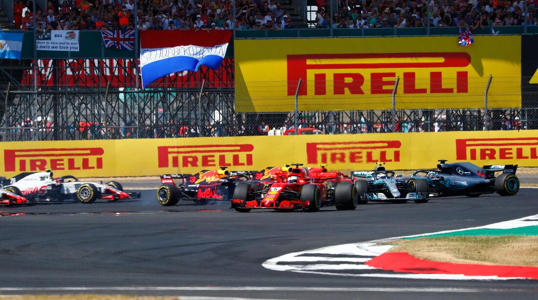 Start - GP England 2018 - Silverstone - Rennen