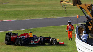 Start GP Japan Mark Webber 2012