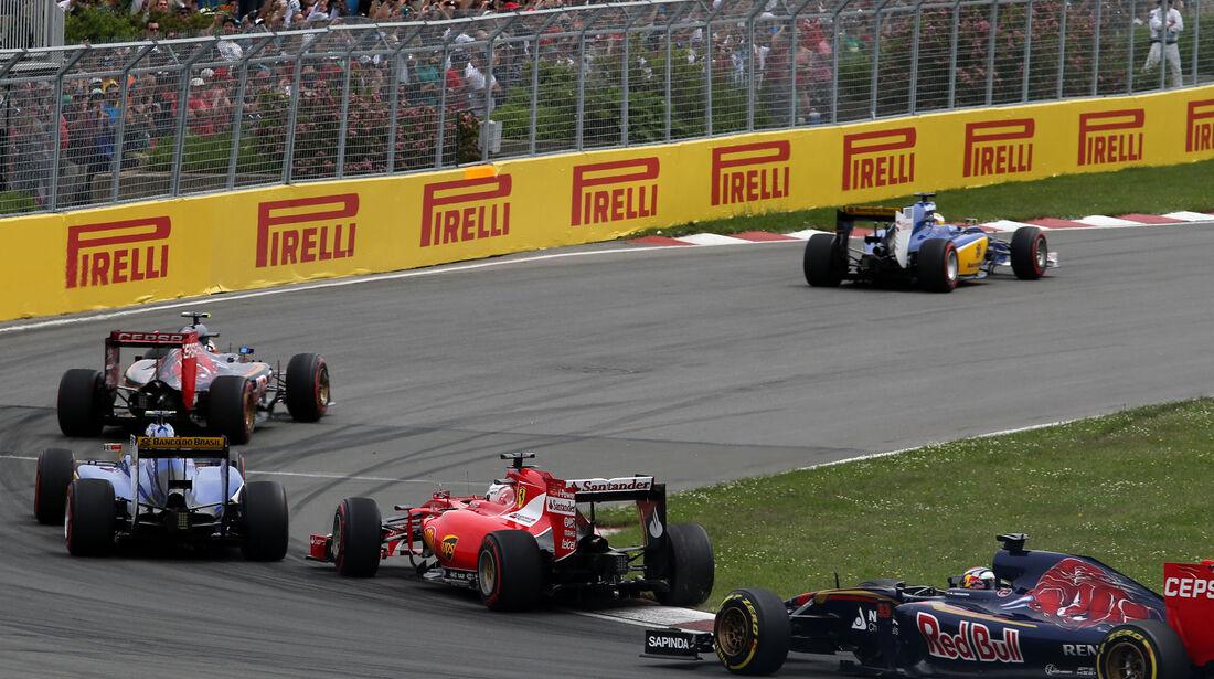 Start - GP Kanada 2015