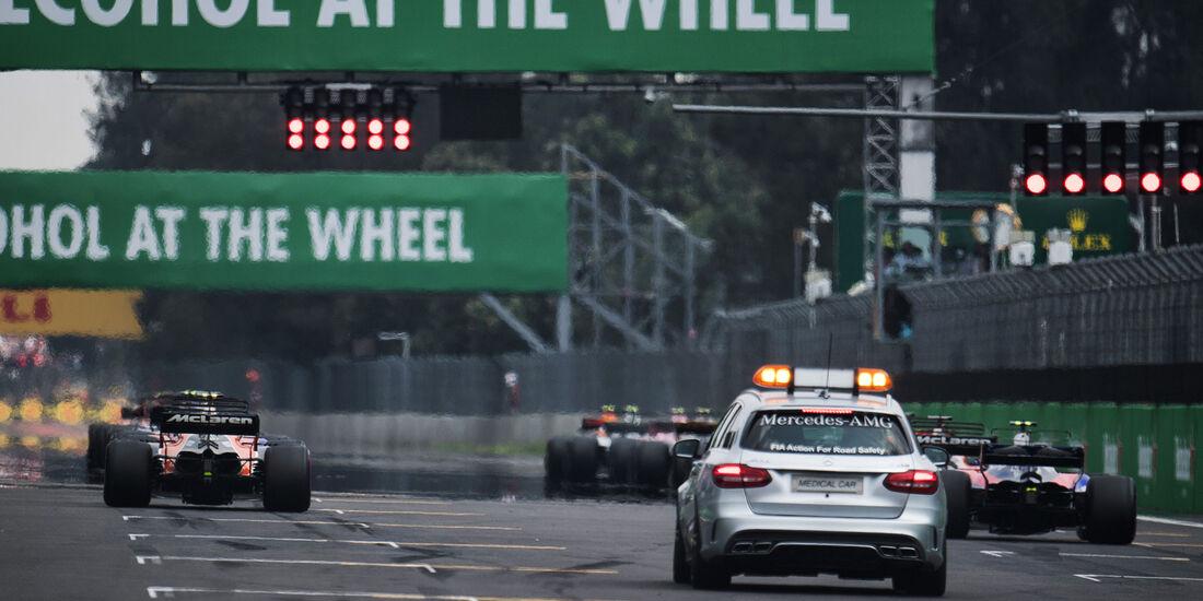 Start - GP Mexiko 2017 - Rennen