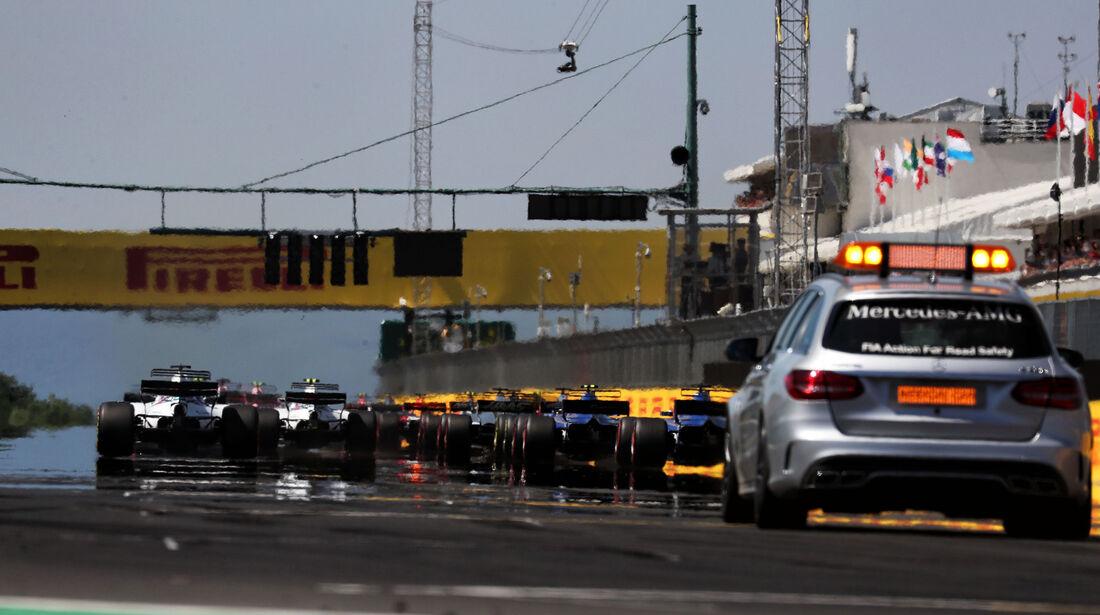 Start - GP Ungarn 2017 - Budapest - Rennen