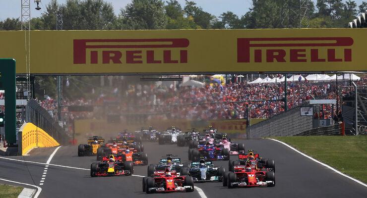 Start - GP Ungarn 2017