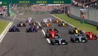 Start - GP Ungarn 2018 - Budapest - Rennen