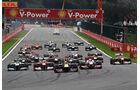 Start Rennen GP Belgien 2011