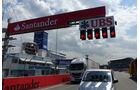 Startampel - Formel 1 - GP Deutschland - Hockenheim - 16. Juli 2014