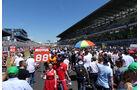 Startaufstellung - 24h-Rennen Le Mans 2017 - Smastag - 17.6.2017