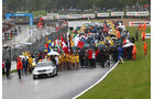 Startaufstellung DTM Brands Hatch 2011