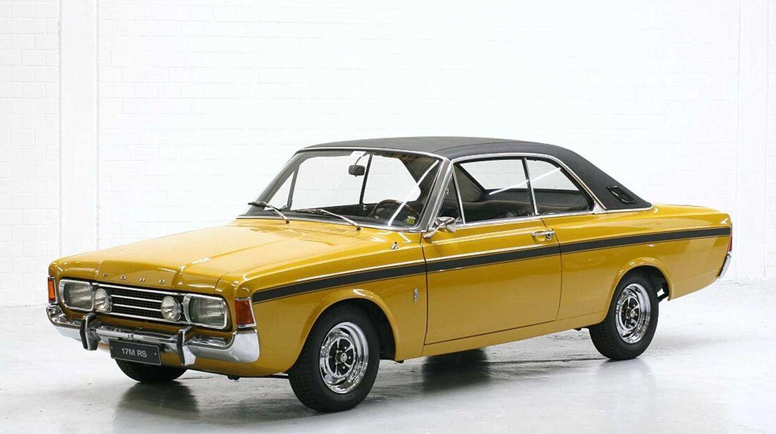 Startnummer 126: Gunnar Hermann im Ford 17 M RS, 2 Liter, V6, 90 PS, Baujahr 1970, Team Ford.