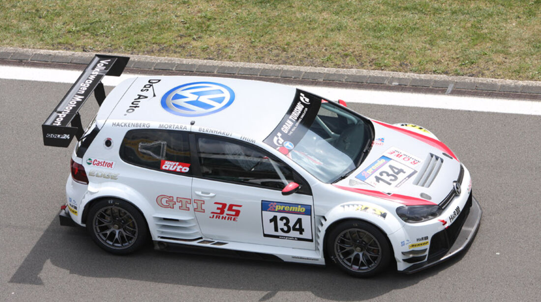 Startnummer #134, VLN, Langstreckenmeisterschaft Nürburgring, 2011