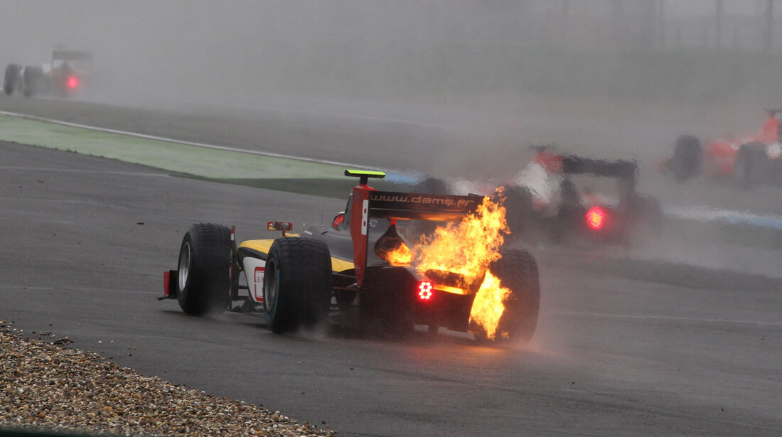 Stephane Richelmi - GP2 - Hockenheim - Crashs 2014