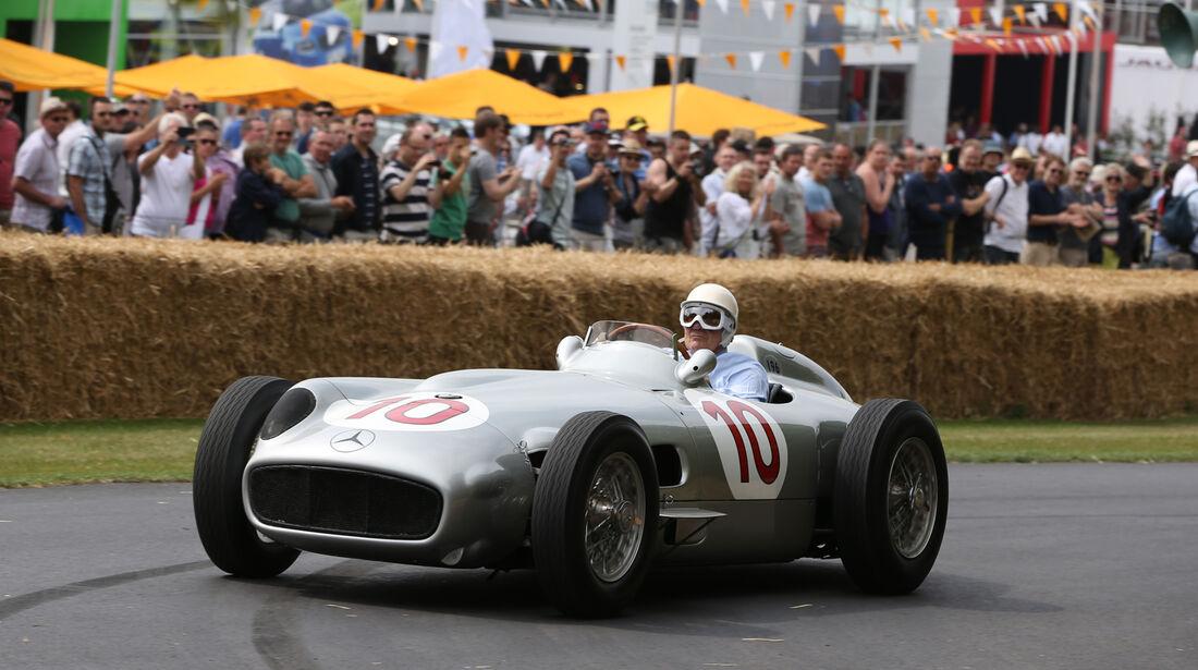 Stirling Moss - Mercedes W196 - Goodwood 2013