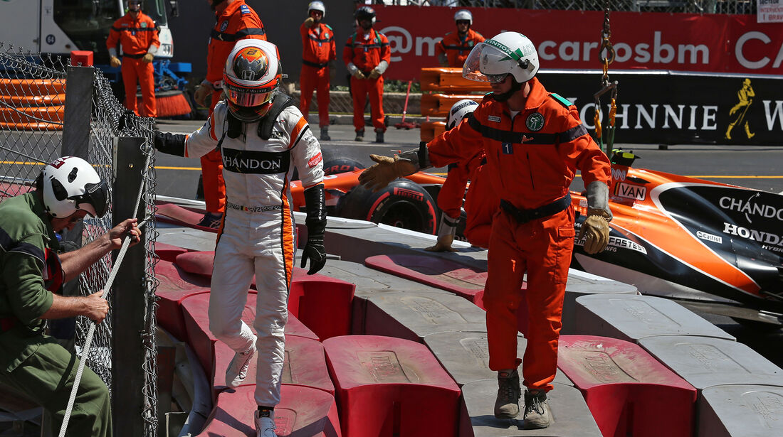 Stoffel Vandoorne - Formel 1 - GP Monaco 2017