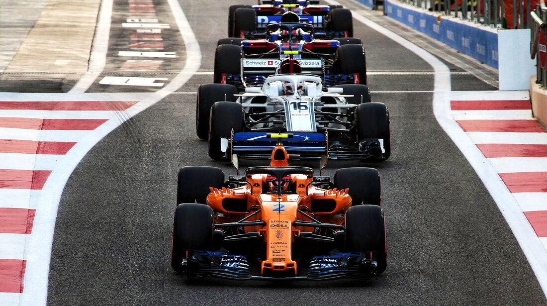 Stoffel Vandoorne - McLaren - Formel 1 - GP Abu Dhabi  -24. November 2018