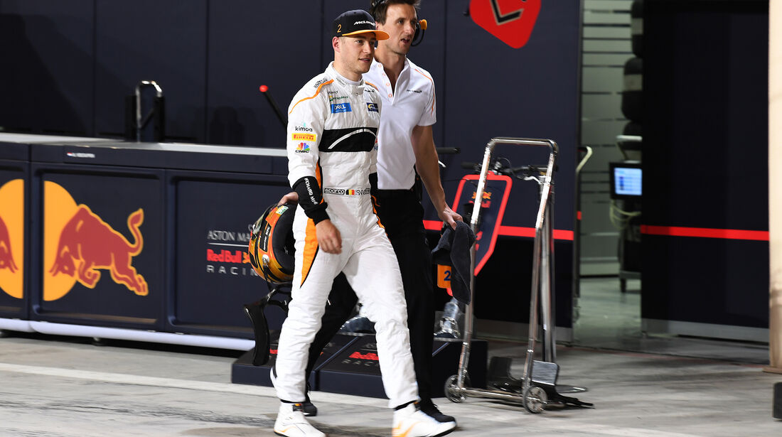 Stoffel Vandoorne - McLaren - Formel 1 - GP Bahrain - 7. April 2018